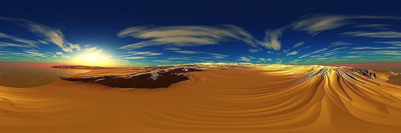Deinebilder24 - Deko-Bild - 50 x x x 150 cm - Wüste gespiegel B01N1Q4S8Q  | Mama kaufte ein bequemes, Baby ist glücklich  17f9e0