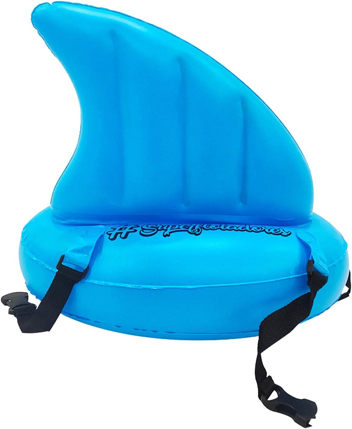 Inflatable Shark Fin Floatation Belt, Swim Training Aid for Begi