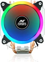 Ant Esports ICE-C612 with RGB LED PWM CPU Cooler/Fan Support Intel LGA775,LGA1200, LGA1150, LGA1151, LGA1155, LGA1156, LGA...