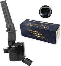 Carrep Ignition Coil for Ford Lincoln 4.6L 5.4L 6.8L V8 V10 Engine Coil Pack (dg508, Black)