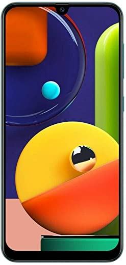 Samsung Galaxy A50s (SM-A507FN/DS) Dual SIM 128GB GSM Unlocked, International Version, No Warranty - Prism Crush Green