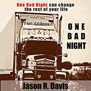 One Bad Night audiobook cover art