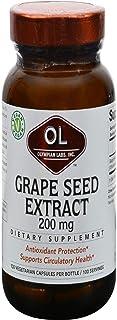 Olympian Labs Grape Seed -- 200 mg - 100 Capsules