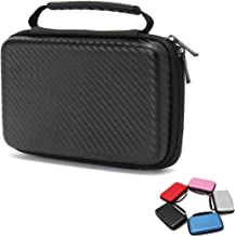 MIFAVOR Carrying Case for New Nintendo 2DS XL Hard Case Bag with Handle for New 2DS XL 2017 (Black)