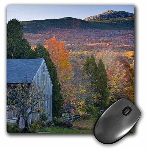 "3D Rose""Mt Monadnock Jaffrey New HampshireUs30 Jmo1332Jerry and Marcy Monk Man"" Matte Finish Mouse Pad - 8 x 8"" - mp_92399_1"