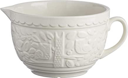 Preisvergleich für Mason Cash S36 Puddingform in The Forest aus Keramik, 16 x 16 x 9 cm, cremefarben, Steingut, cremefarben, 2L