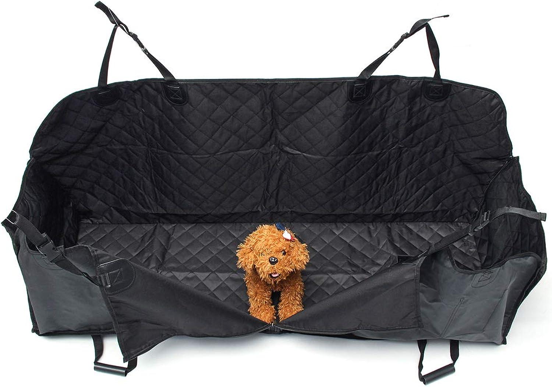 Interior Accessories Car Rear Back Seat Pet Mat Dog Cat Cushion Hammock Predector Blanket Waterproof Black