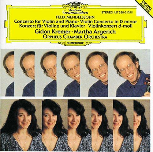Konzert für Violine und Klavier - Violinkonzert d-moll