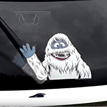 WiperTags Abominable Snow Monster Waving Arm with Decal
