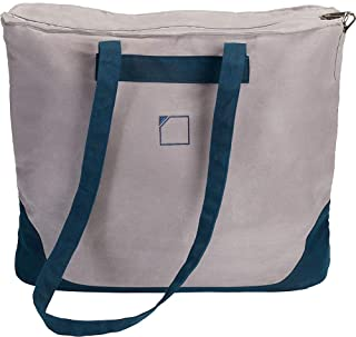 Lewis N. Clark OutwardTM Canvas Tote, Large, Gray/Royal Blue (multi) - 9552GBL