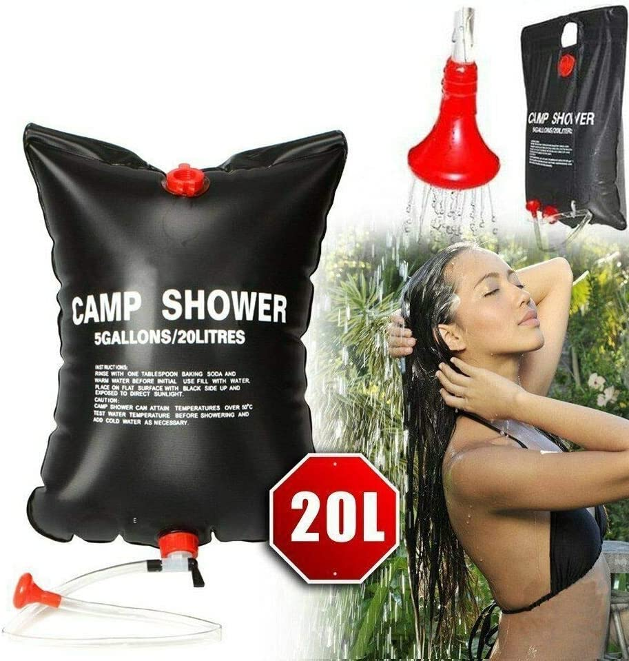 Attention brand Z.L.FFLZ Shower Bag Max 75% OFF 20L Water Sol Collapsible Camping