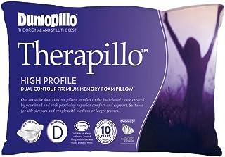 DUNLOPILLO Therapillo Memory Foam High Profile Dual Contour Pillow