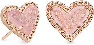 Kendra Scott Ari Heart Stud Earrings for Women, Fashion Jewelry
