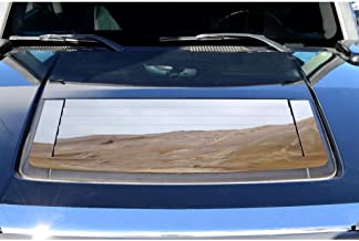 Ferreus Industries Polished Stainless Hood Vent Trim fits: 2005-2010 Hummer H3 OTH-101-07