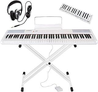 Artesia 電子ピアノ アマゾンオリジナル バリューセット 88鍵 PERFORMER/WH ホワイト (サスティンペダル/スタンド/ヘッドフォン/鍵盤デザインクロス付属)