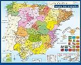 Grupo Erik Editores Mini poster Mapa De España