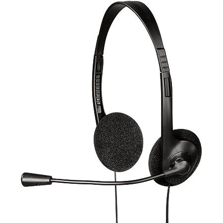 Hama Pc Headset Hs 101 Mit Mikrofon Schwarz Elektronik