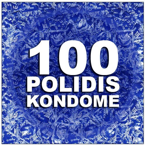 Polidis Profi Kondome / Condome Gefühlsecht - 100 Stück