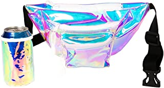 Iridescent Icon Fanny Pack with Drink Holder