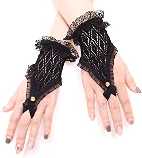 fingerless lace wedding gloves