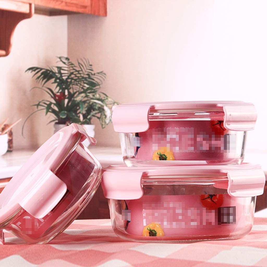 LINGLING Container Sets Compartment Glass Ranking integrated 1st place Prep Meal Containers G 67% OFF of fixed price