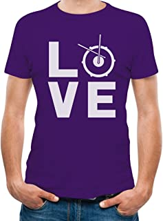 Tstars - Best Gift Idea for Drummers - Love Drums - Cool T-Shirt