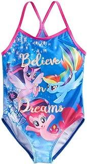 Girls Believe in Dreams One Piece Swimsuit UPF 50+ (5/6)