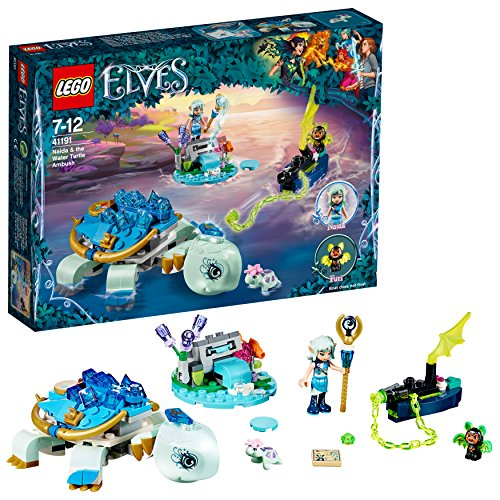 Lego Elves - Naida y la emboscada de la tortuga del agua, 1 Unida, Modelos / Colores Surtidos (41191)