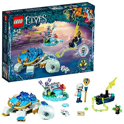 LEGO- Elves Naida l'Agguato della Tartaruga Acquatica, Multicolore, 41191