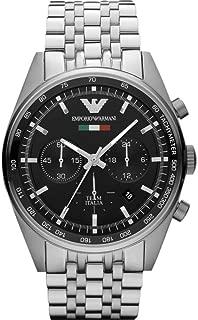 Emporio Armani AR5983-Wristwatch Men's, Stainless Steel Strap Silver