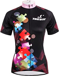 ILPALADINO Women's Cycling Jersey Short Sleeve Biking Shirts Toys Jigsaw Puzzles