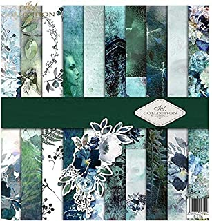 ITD Collection - Emballage Scrapbooking 12 x 12 Pouces, Papier Scrapbooking, Découpage, Décoration, Papier Décor, Papier C...
