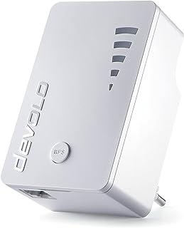 devolo WLAN Repeater, WiFi Repeater ac -bis zu 1.200 Mbit/s, Mesh WLAN Verstärker, WLAN Access Point, WLAN Steckdose, 1x G...