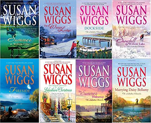 Susan Wigg's Lakeshore Chronicles 8 book set: The Summer Hideaway/Lakeshore Christmas/Fireside/Summer at Willow Lake/Dockside/The Winter Lodge/Snowfall at Willow Lake/Marrying Daisy Bellamy (1-8)