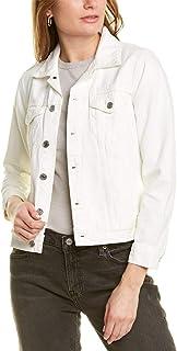 Lucky Brand womens Long Sleeve Button Up Two Pocket Tomboy Trucker Jacket Denim Jacket