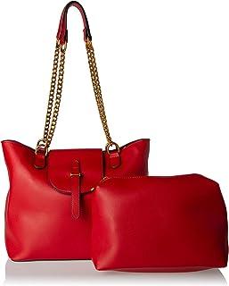 مجموعة حقائب اليد للنساء - احمر