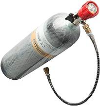 Gurlleu 3L Carbon Fiber Charging System Cylinder 4500psi PCP Paintball Refill Station Tank(Empty Bottle)