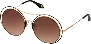 Sky Vision Round Sunglasses for Women, Brown Lens, 20865