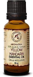 Aceite Esencial de Mandarina 20ml - Cítricos Reticulados - Italia - 100% Puro y Natural - usos Aceite Mandarina para Alivi...