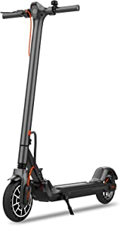 """Hiboy MAX V2 Electric Scooter - 8.5"""" Solid Tires, Up to 17 Miles & 18.6 MPH, Front & Rear Suspensions, One Step Fold Elect..."""