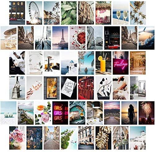 Wall Collage Kit Aesthetic Pictures Bedroom Decor for Teen Girls Wall Collage Kit Aesthetic product image