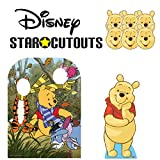 Winnie the Pooh Party Pack Lifesize Cardboard Cutout, Child Size Stand In and Six Pack of Masks