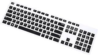 VILLCASE Protetor de Teclado de Silicone Compatável Com Pele de Teclado Transparente Dell Kb216 Capa de Teclado Com Fio A...