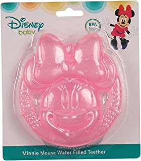 Disney Minnie Mouse Face Icon Water Filled Teether