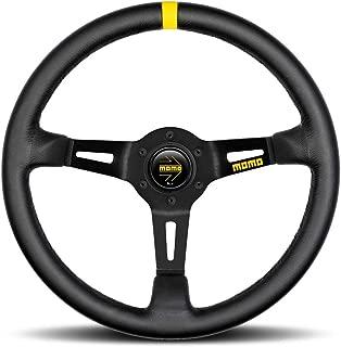 Momo R1908/35L Steering Wheel (MOD 08 Black Leather)