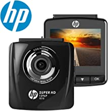 HP Dash Cam for Cars 1296P Super HD Night Vision Dashboard Camera Recorder with 2.4