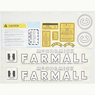 Sparex, S.56927 Decal Kit, Farmall C For Various Makes