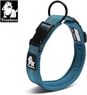 TRUE LOVE Dog Collar Reflective Premium Duraflex Buckle,High Grade Nylon Webbing No Choke Basic Collars Truelove TLC5011
