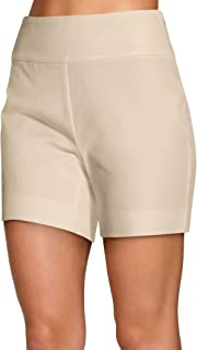 Boston Proper Women's Everyday Side Zip Stretch Twill High Rise Five-Inch Short