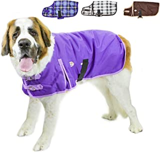 Derby Originals Horse Tough 1200D Waterproof Winter Dog Coat with 2 Year Warranty - Designed with Heavy Duty Ripstop Nylon & No Rub Breathable Inner Lining Insulated - Multiple Styles & Sizes